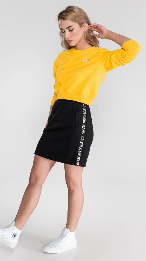 Černá sukně Calvin Klein výprodej