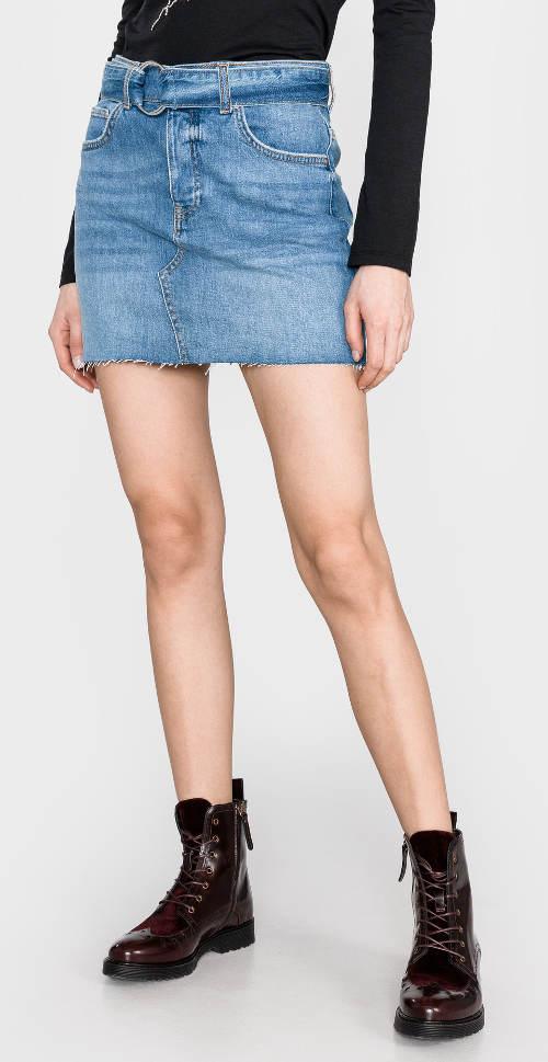 Džínová mini sukně pro mladé Guess
