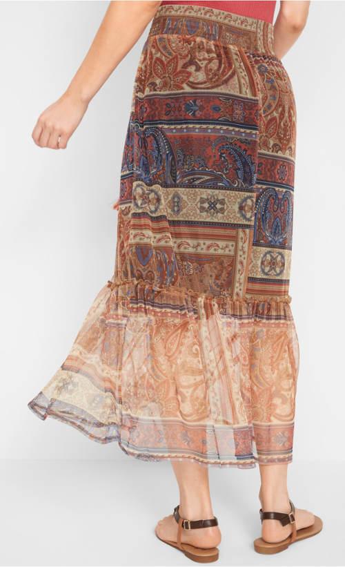 Lehounká dámská sukně k moři