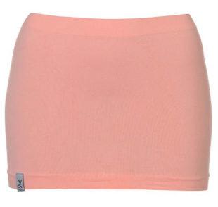Růžová sportovní mini sukně