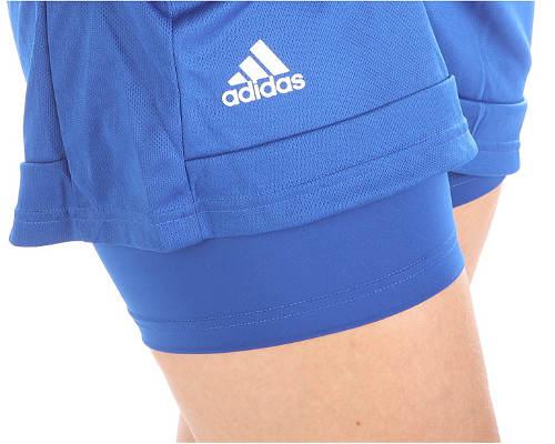 Krátká sportovní sukně s všitými kraťáskami