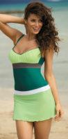 Lehounká zelená plážová sukně Marko