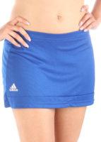 Modrá sportovní minisukně Adidas