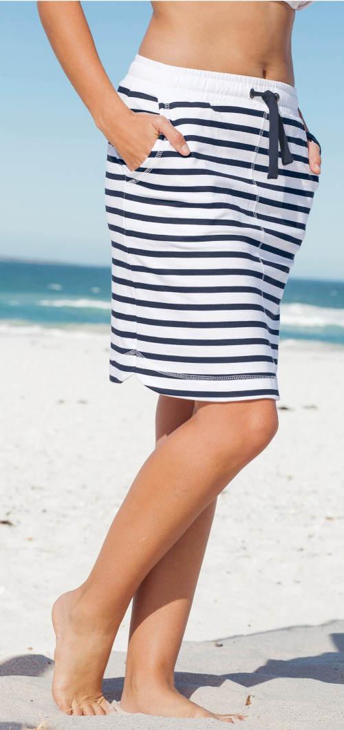 Námořnická plážová sukně