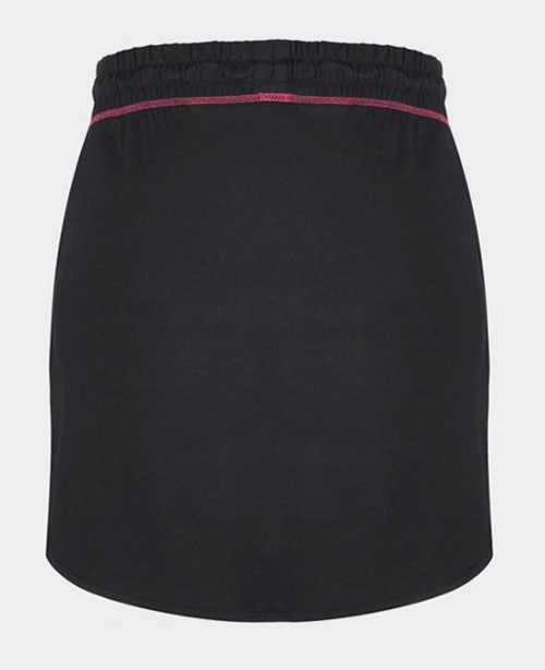 Černá sportovní bavlněná sukně