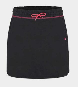 Černá sportovní sukně Loap Adissa