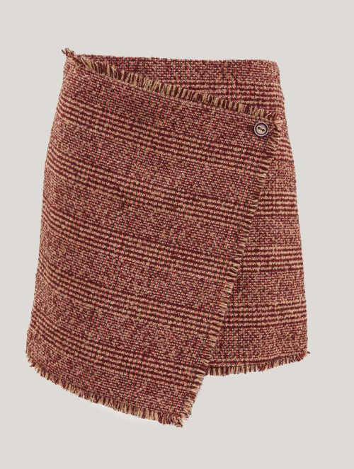 Zavinovací retro sukně