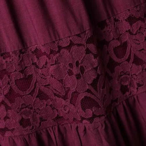 Dámská sukně Blancheporte s krajkovými vsadkami