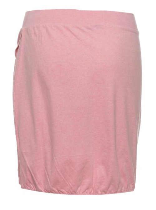 Bavlněná dámská sukně růžové barvy