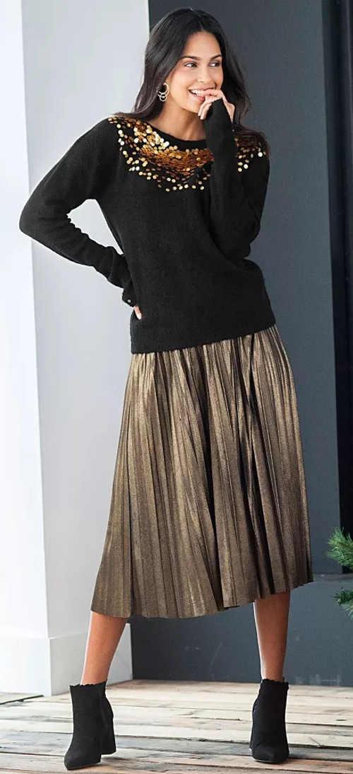 Další plisovaná sukně výprodej