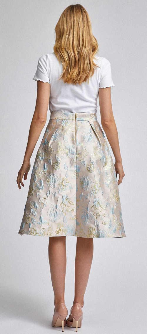 Nádherná společenská dámská sukně