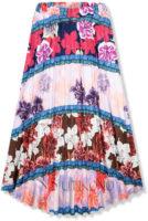 Univerzální dlouhá letní sukně květovaný vzor