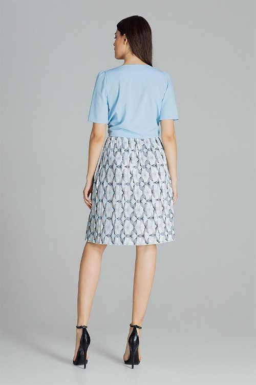 Dámská sukně plisovaná v délce ke kolenům
