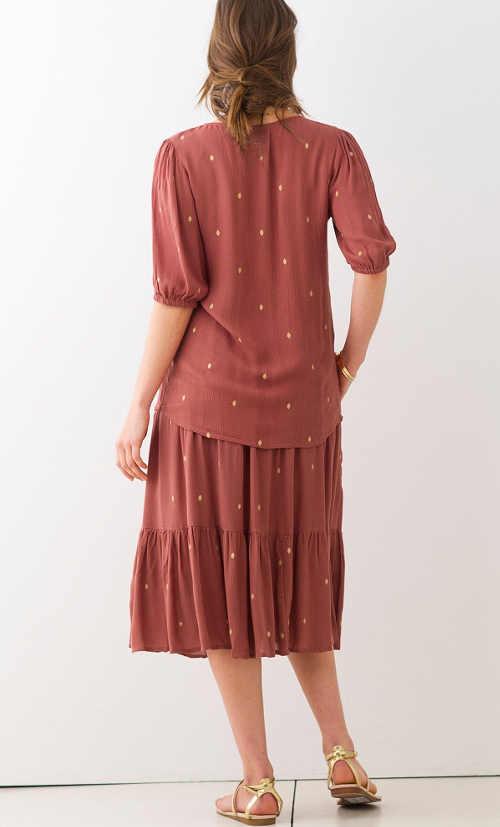 Pohodlná a praktická sukně nejen na letní období