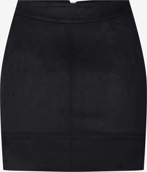 Elastická černá dámská krátká sukně