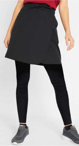 Levná funkční sportovní zavinovací sukně