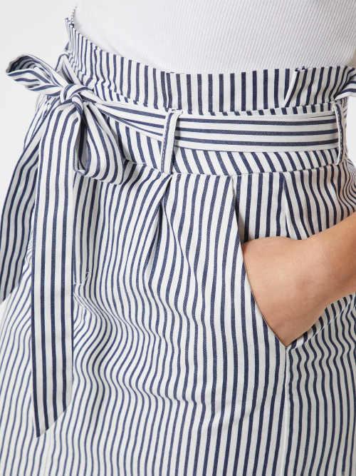 Námořnická letní sukně s kapsami