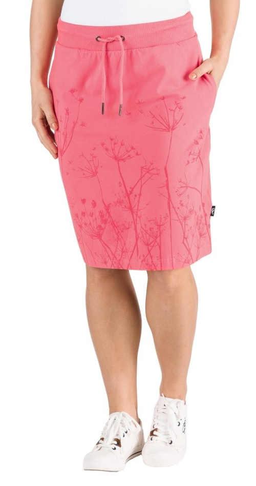 Dámská letní sukně v komfortním střihu z příjemného materiálu