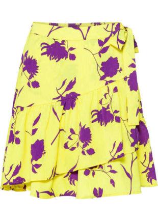 Zavinovací sukně v impozantní barevné kombinaci