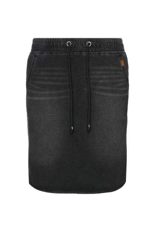 dámská denimová sukně v mini délce