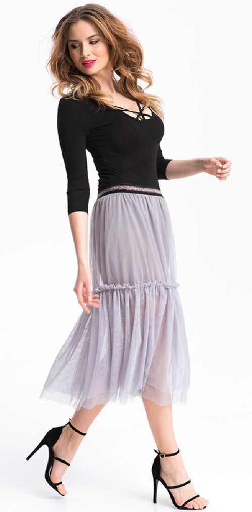 dámská dlouhá letní sukně
