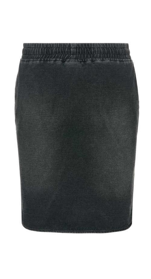 dámská džínová sukně v jednoduchém provedení