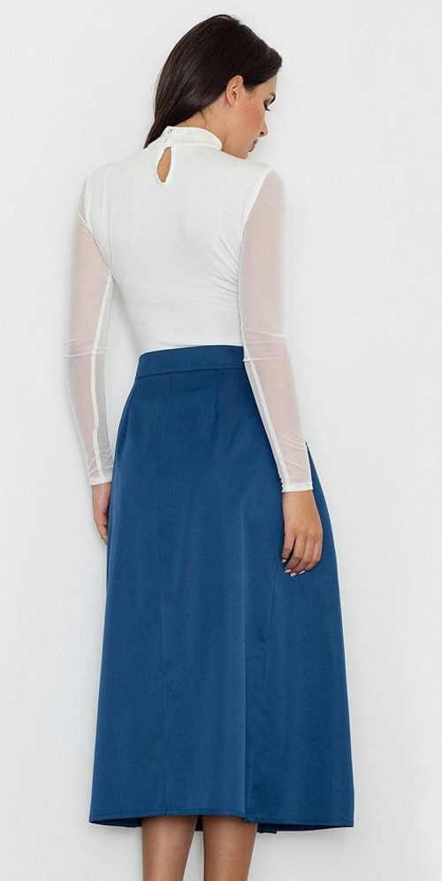 moderní dámská sukně v působivém střihu