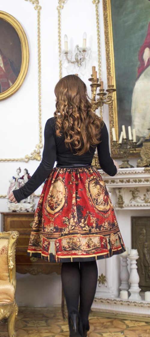 moderní sukně v originálním provedení