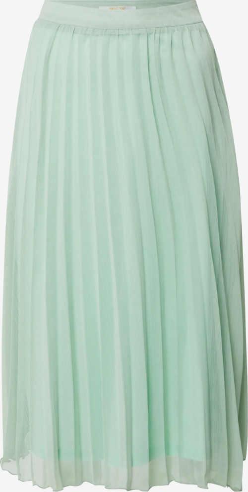 Skládaná šifonová dámská sukně