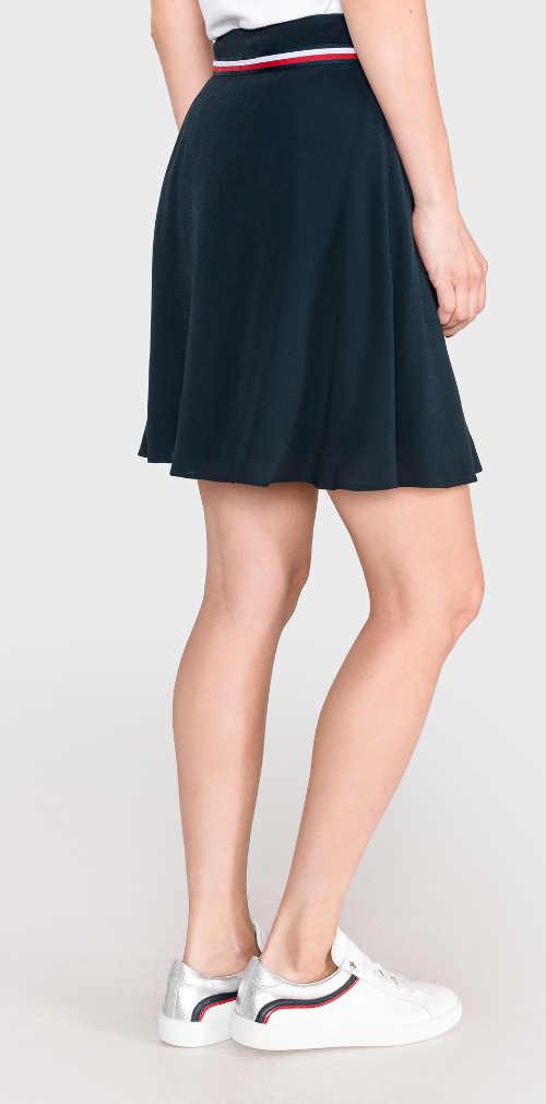 značková dámská sukně v modrém provedení