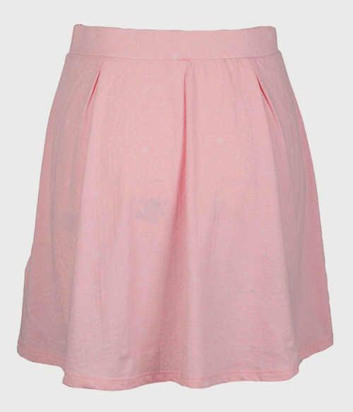 Krátká růžová dámská sukně výprodej