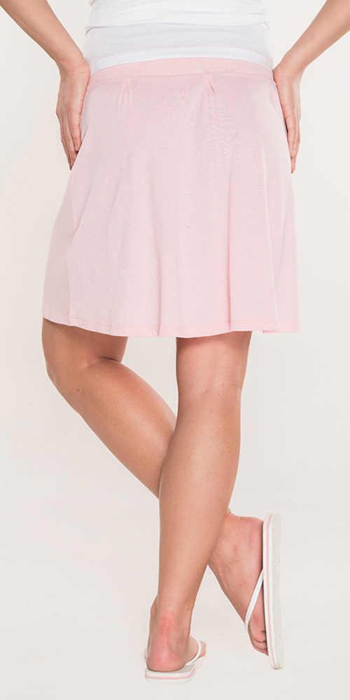 Krátká letní růžová sukně SAM 73