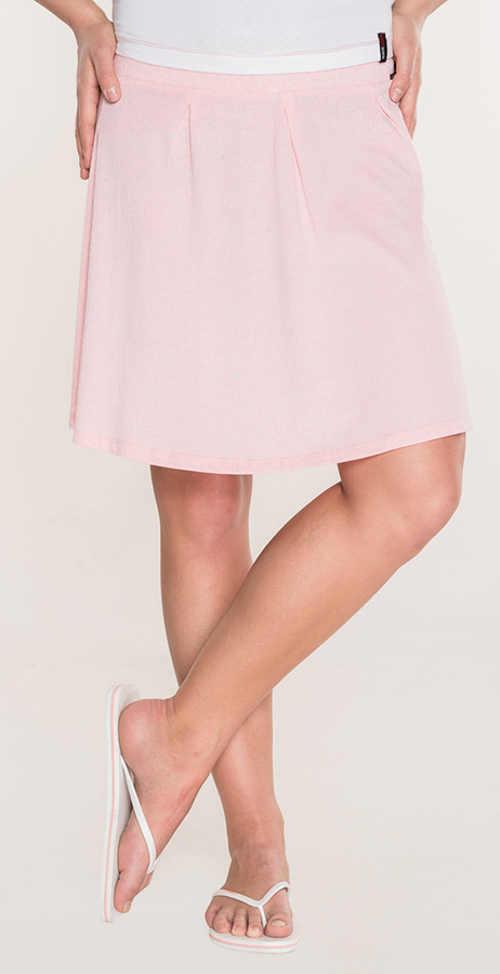 Světle růžová levná letní sukně