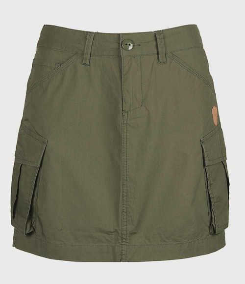 Trendy dámská sukně army styl