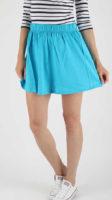 Dámská krátká sukně v blankytně modré nejen na léto