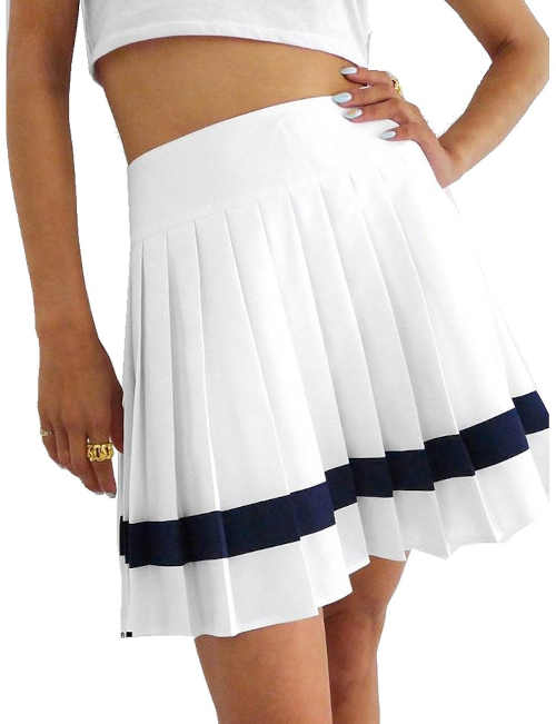 Stylová dámská skládaná sukně Reebok v krátké délce