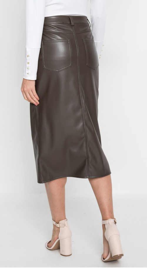 dámská moderní midi sukně