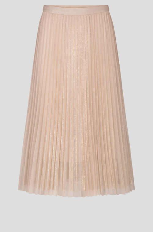 plisovaná sukně z příjemného tylu