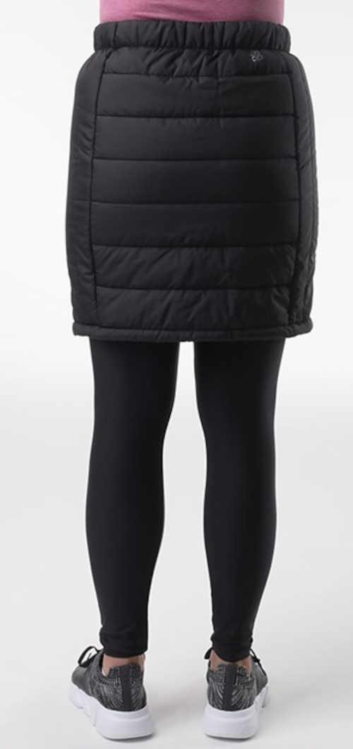zimní dámská sukně v kratší délce