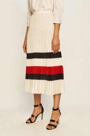 Plisovaná dámská sukně v maxi délce Tommy Hilfiger