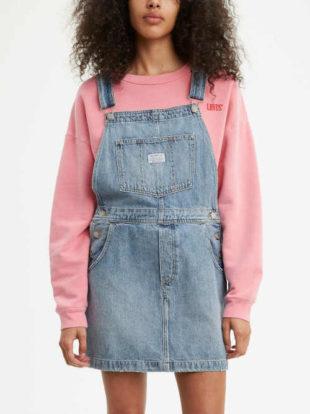 Stylová a komfortní dámská krátká sukně s laclem
