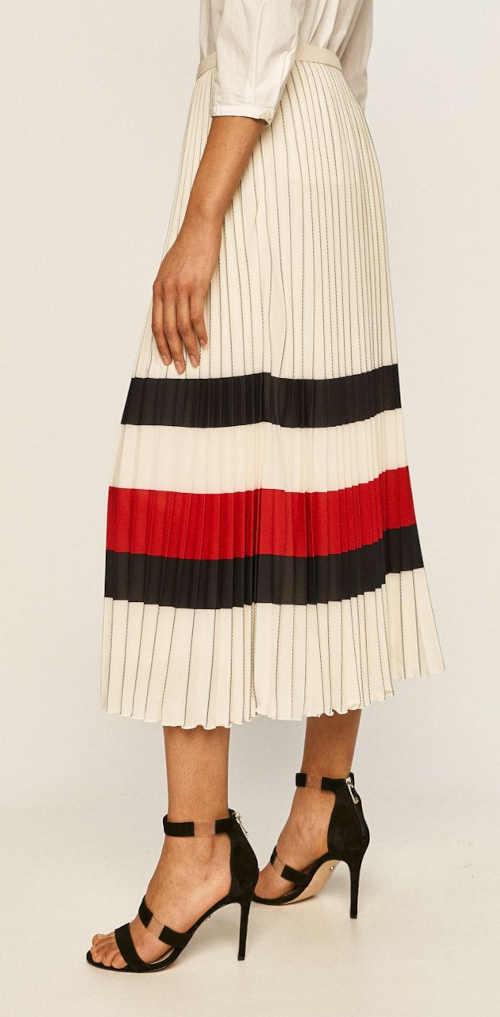 dámská dlouhá plisovaná sukně