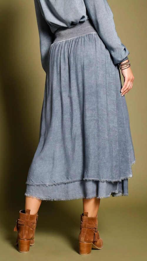 dámská sepraná asymetrická sukně