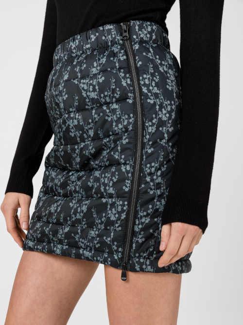 zimní dvoubarevná krátká sukně