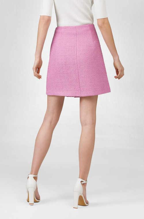 áčková sukně na knoflíky