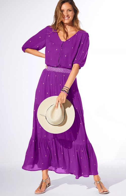 dlouhá sukně ve 3 barevných variantách
