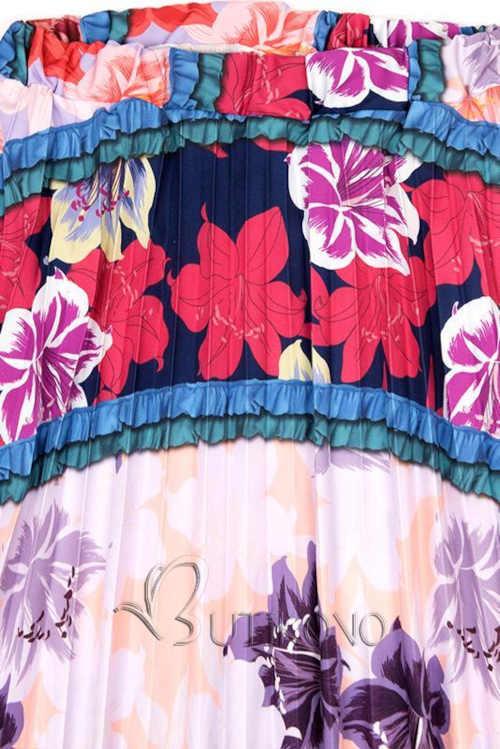 moderní dlouhá sukně barevná