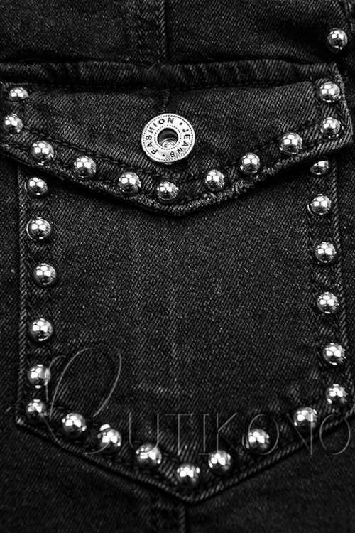 sukně zdobená stříbrnými nýty