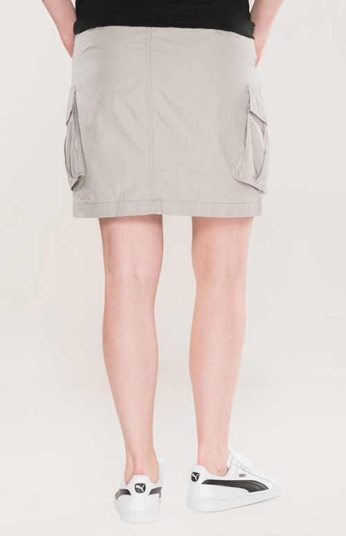 volnočasová sukně z bavlny