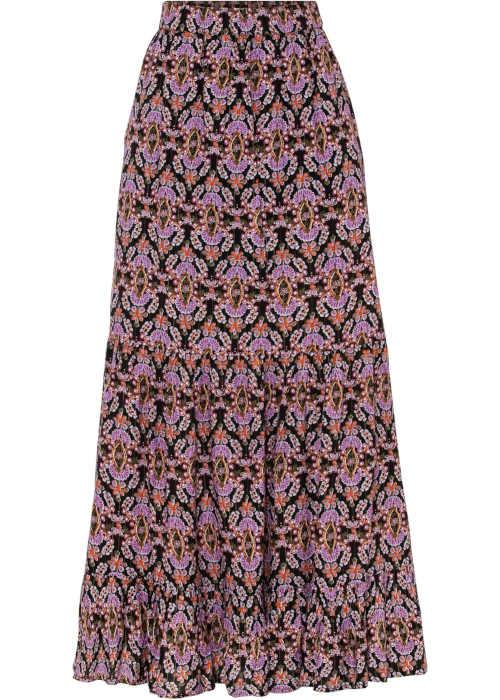 dlouhá sukně v pase do gumy